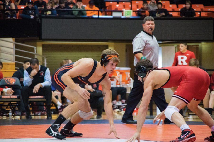 Wrestling vs Rutgers and Utah Valley