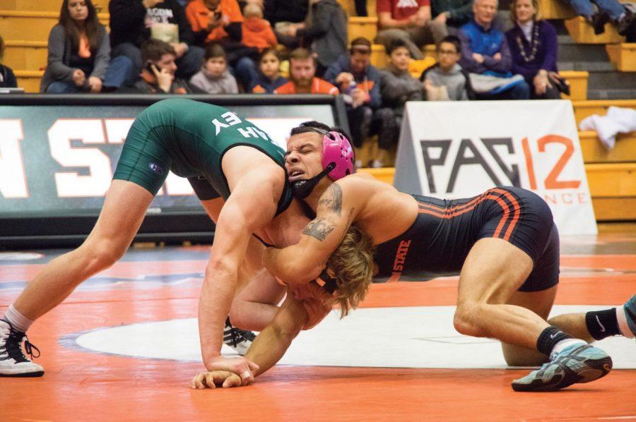 Wrestling vs Utah Valley