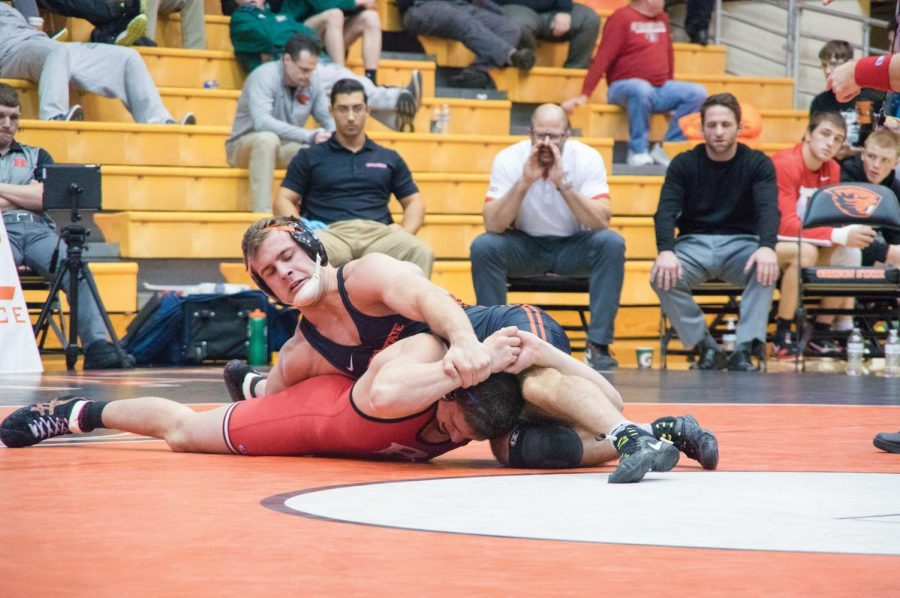 Wrestling vs Rutgers