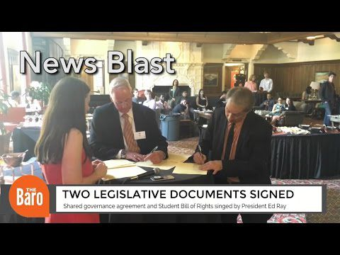 OSU updates Shared Governance Agreement and Student Bill of Rights