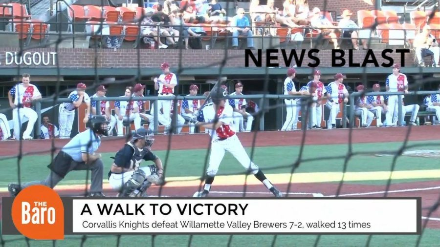 Corvallis Knights walk to victory