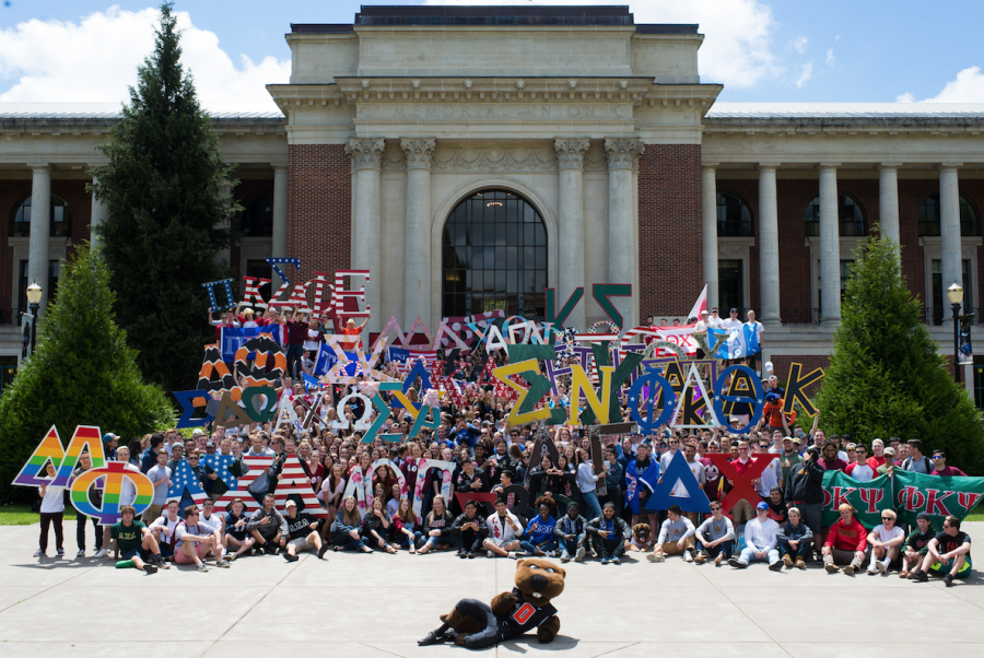 Oregon State's Fraternity and Sorority Life community is made up of five councils with a total of 46 individual chapters. The five organizations consist of the Collective Greek Council, the Interfraternity Council, the National Pan-Hellenic Council, the Panhellenic Council and the Unified Greek Council.