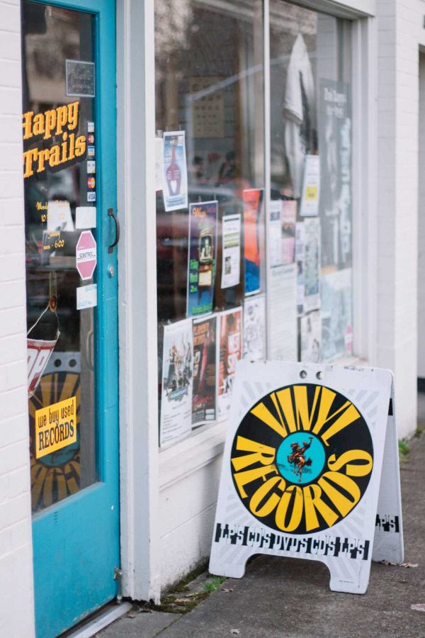 Happy+Trails+Records+is+located+on+3rd+St+in+Corvallis.+Doug+DiCarolis+has+owned+it+for+33+years.