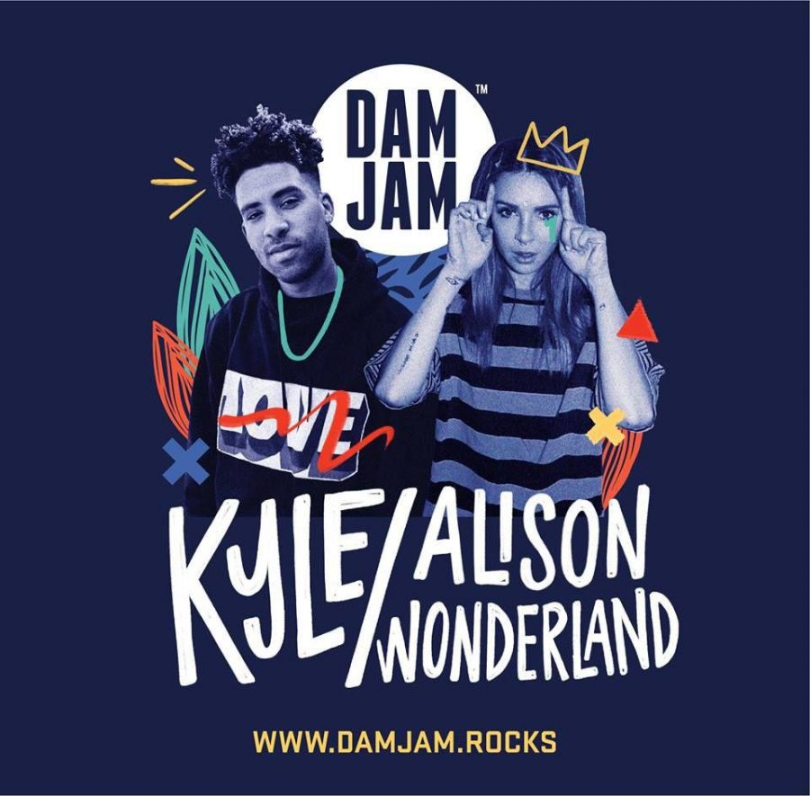 DAM+JAM+2018+with+feature+artists+KYLE+and+Alison+Wonderland.