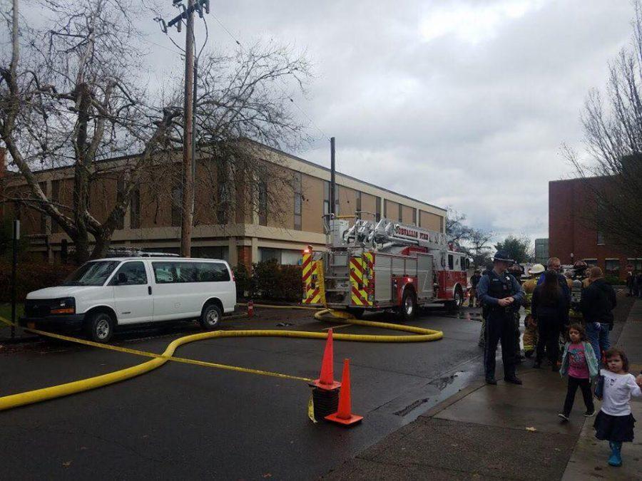 Burt Hall Fire
