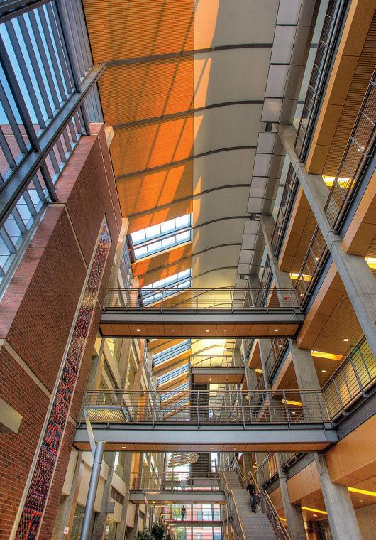 Kelley+Engineering+Center+holds+many+engineering+classrooms.