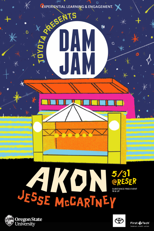 Akon+and+Jesse+McCartney+will+perform+at+DAM+JAM+on+May+31+at+Reser+Stadium.+This+will+be+the+second+year+in+a+row+that+the+outdoor+music+event+will+be+hosted+at+Reser.%C2%A0