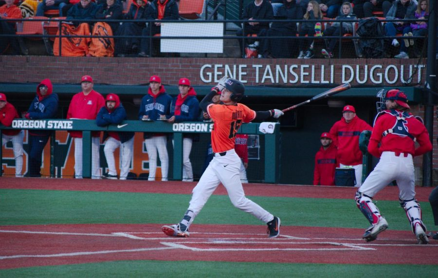 Despite+making+just+19+appearances+in+the+previous+36+games%2C+freshman+third+baseman+Jake+Dukart+made+himself+known+to+the+Wildcats%2C+ending+the+series+with+five+hits+and+two+RBIs.%C2%A0