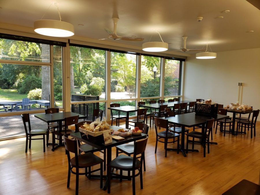 The Human Services Resource Center in Champinefu Lodge at the edge of campus is open to both the public and students, and they offer a variety different services.