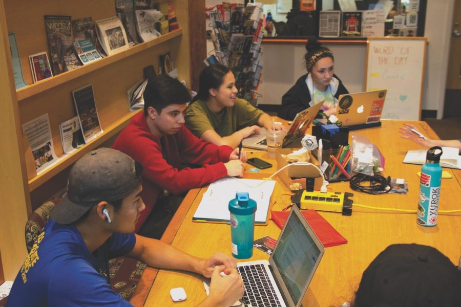 Students+study+in+the+Native+American+Longhouse+Eena+Haws%2C+OSU%E2%80%99s+first+cultural+center.