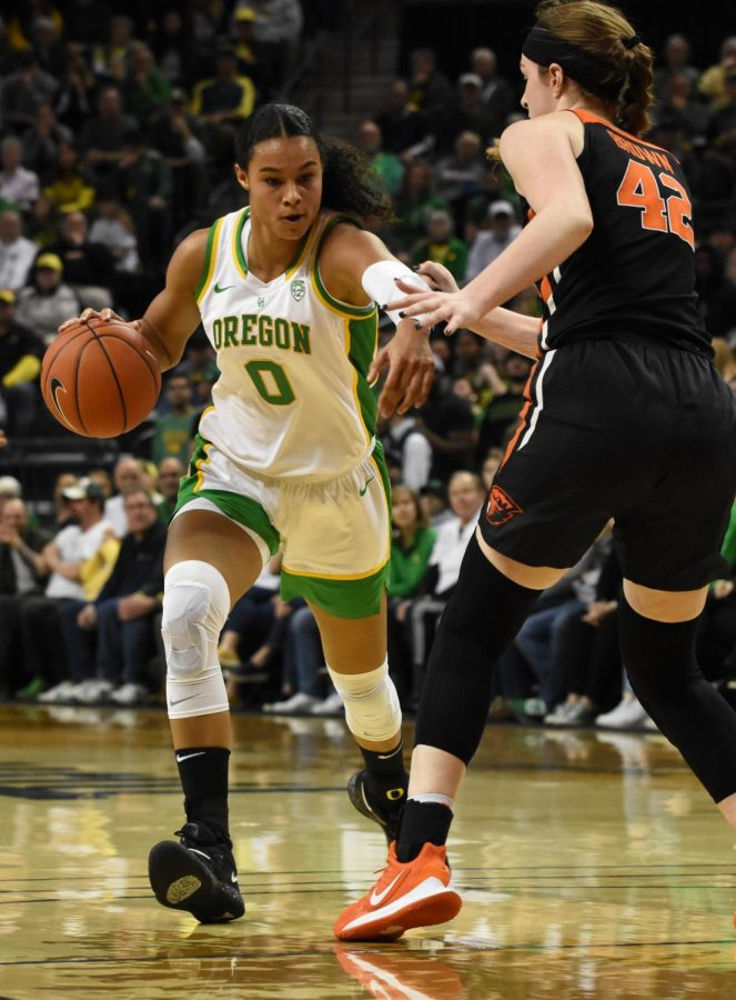 UO+junior+forward+Satou+Sabally+%28%230%29+advances+towards+defender%2C+OSU+freshman+forward+Kennedy+Brown+%28%2342%29%2C+before+passing+the+ball+to+UO+junior+forward+Erin+Boley+%28%2321%29+at+Matthew+Knight+Arena%2C+Friday%2C+Jan.+24%2C+2020.+After+Boley%E2%80%99s+3-point+shot%2C+UO+was+up+by+nearly+20+points%2C+with+a+score+of+42-23.%C2%A0