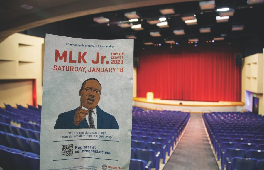 The+annual+MLK+day+of+service+will+be+held+at+the+Lasells+Stewart+Center+Saturday%2C+Jan.+18.+This+is+one+of+many+events+celebrating+the+late+King.