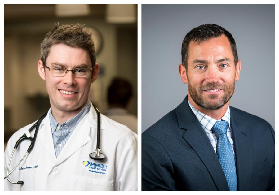 Nicholas+Brown+and+Brian+Delmonaco+are+doctors+in+Corvallis%2C+Ore.+on+the+front+line+of+the+fight+against+COVID-19.