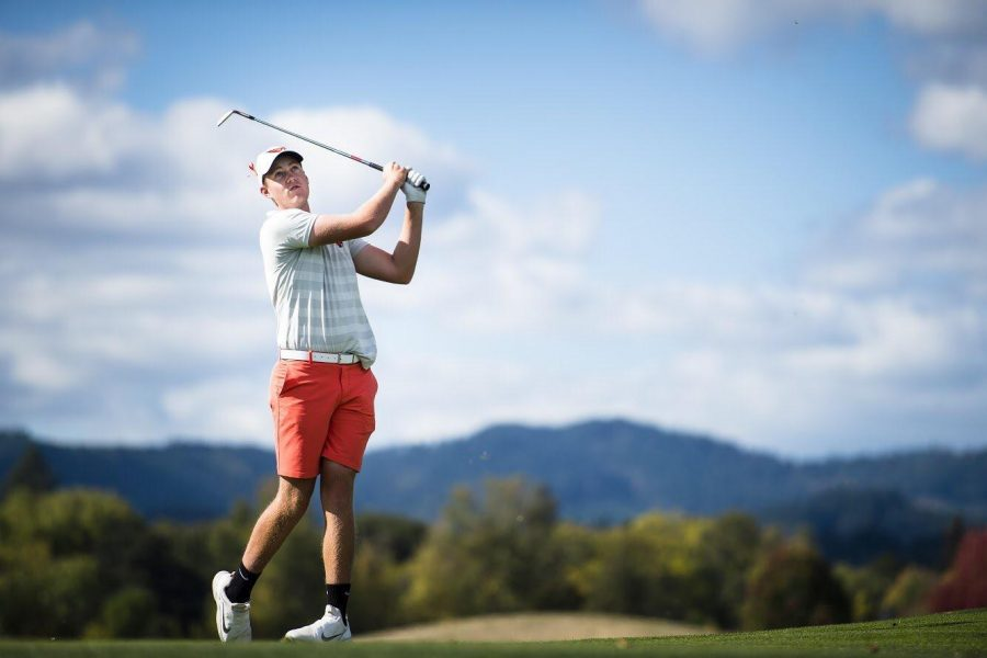 OSU+junior+Spencer+Tibbits+golfs+in+the+spring+of+2019+to+help+lead+him+to+his+time+in+the+U.S.+Amateur+Championship+and+with+the+U.S.+Open+in+June+2019.%C2%A0
