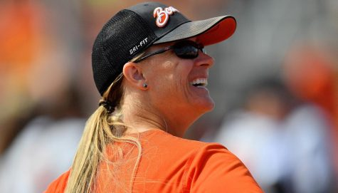 Oregon State Softball head coach Laura Berg is an Olympian champion who enjoys playing pranks, has bees and served as a Los Angeles police officer. Berg is in her eight season as head coach.