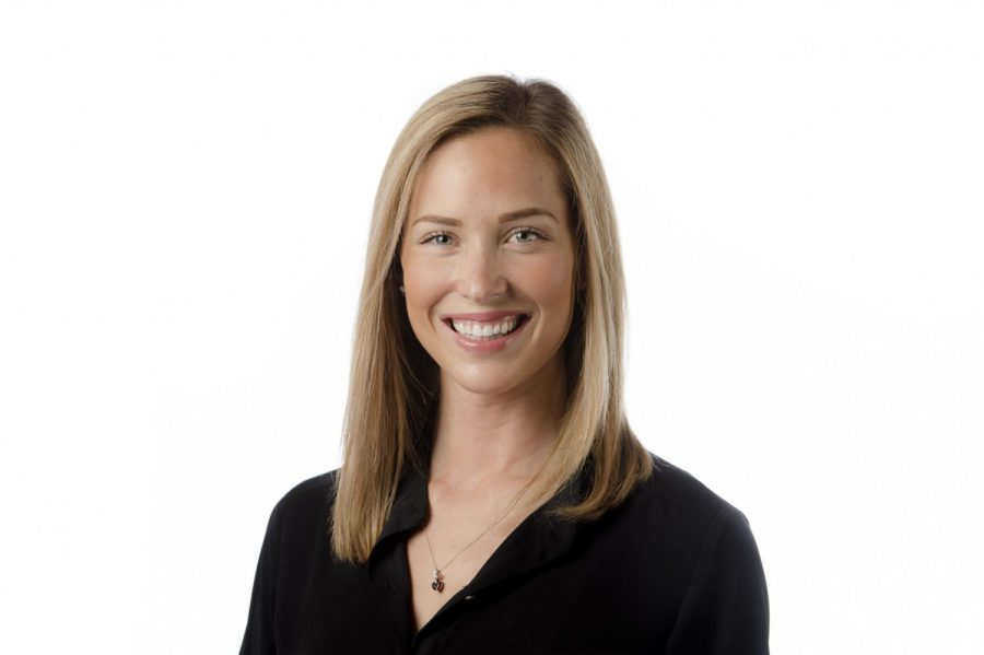 Lindsey+Goodman%2C+the%C2%A0assistant+athletic+director+for+student-athlete+development+at+Oregon+State+Athletics%2C+is+adjusting+to+the+COVID-19+pandemic+and+is+working+with+student-athletes+with+remote+support+and+development.%C2%A0