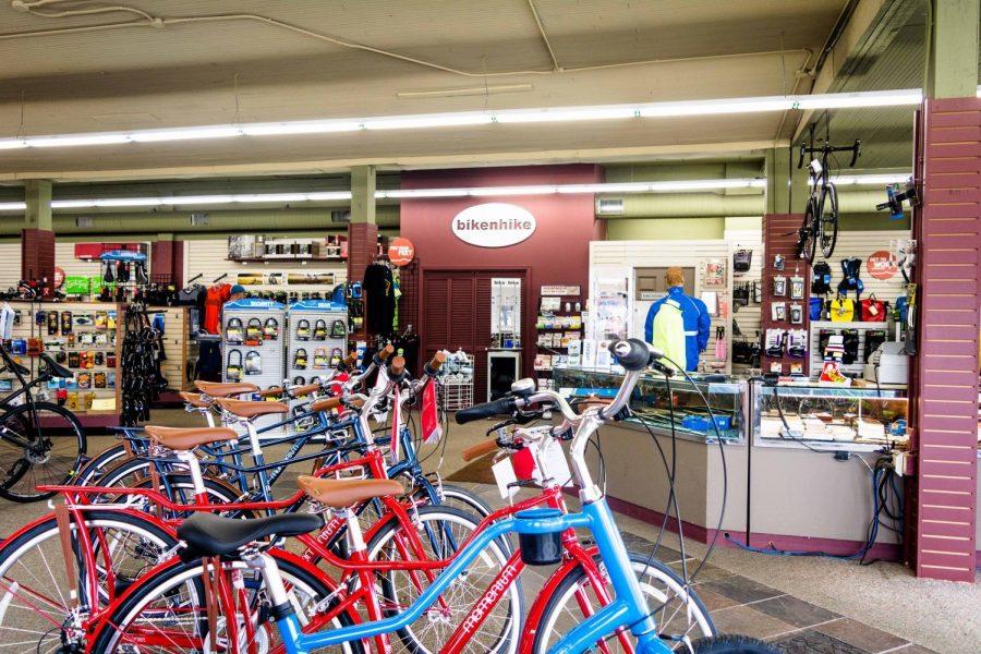 Bike n Hike is a local bike shop in downtown Corvallis.