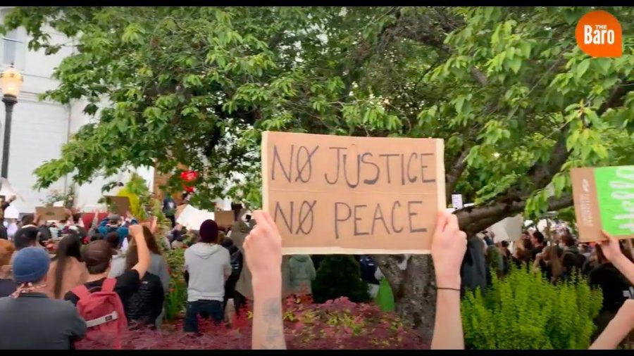 Student-led+peaceful+demonstration+puts+Corvallis+police%2C+community+on+notice+for+violence+against+black+people