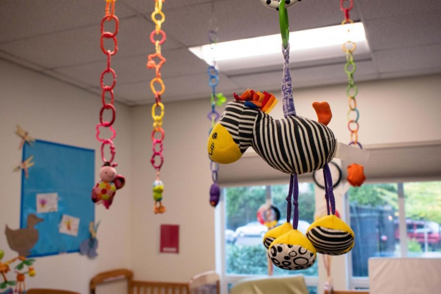 The+OSU+Care+Center%2C+Beaver+Beginnings%2C+retains+a+colorful+interior+and+positive+attitude+despite+the+restrictions+imposed+due+to+COVID-19.+Beaver+Beginnings+provides+child-care+services+for+the+students%2C+staff%2C+and+faculty+of+OSU.