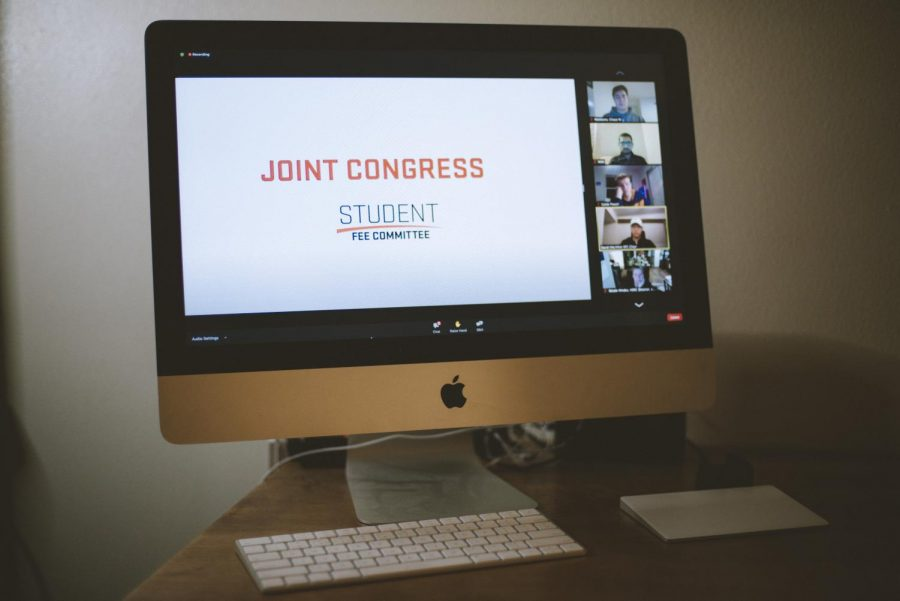 The last session of a two part Student Fee Committee meeting took place on January 13 via Zoom.