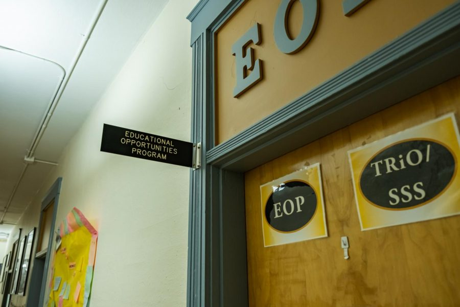 The Educational Opportunities Program is housed on the third floor of Waldo Hall. The EOP provides support for students who have traditionally been denied equal access to higher education.
