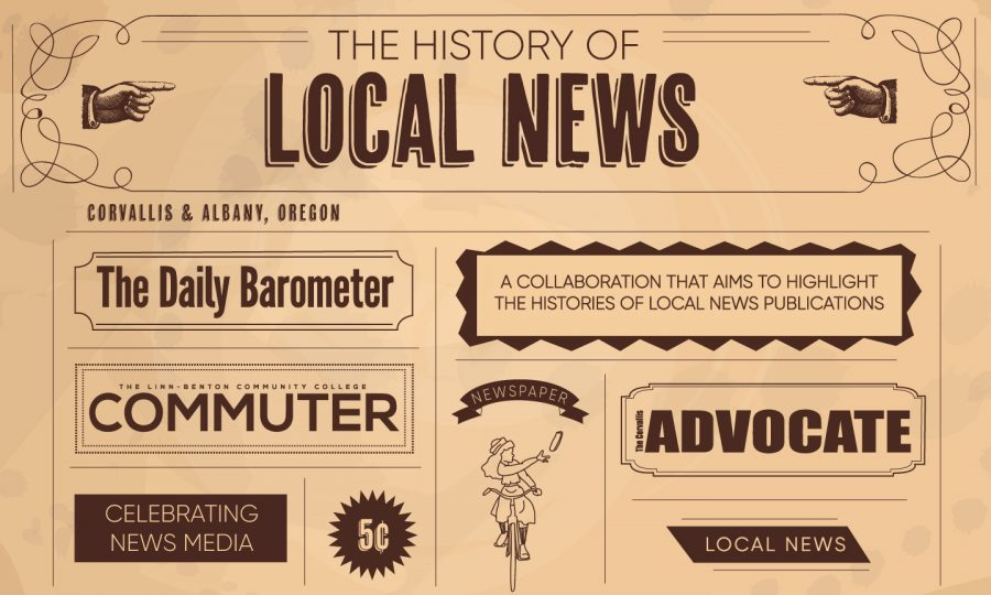 This is a collaboration with the Corvallis Advocate and Linn Benton Community Colleges The Commuter that highlights the histories of local news outlets.