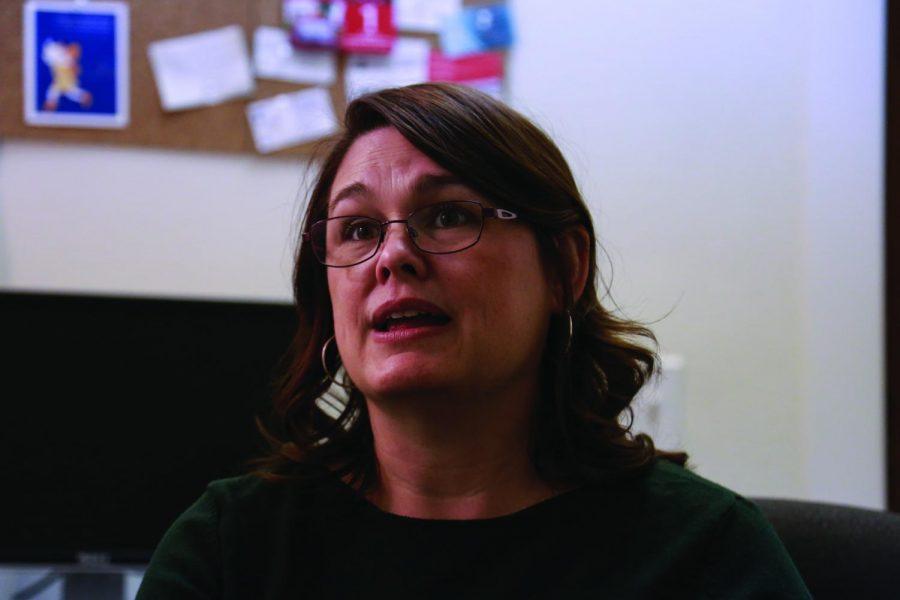 State Senator Sara Gelser represents Senate District 8, which includes Corvallis, Ore.