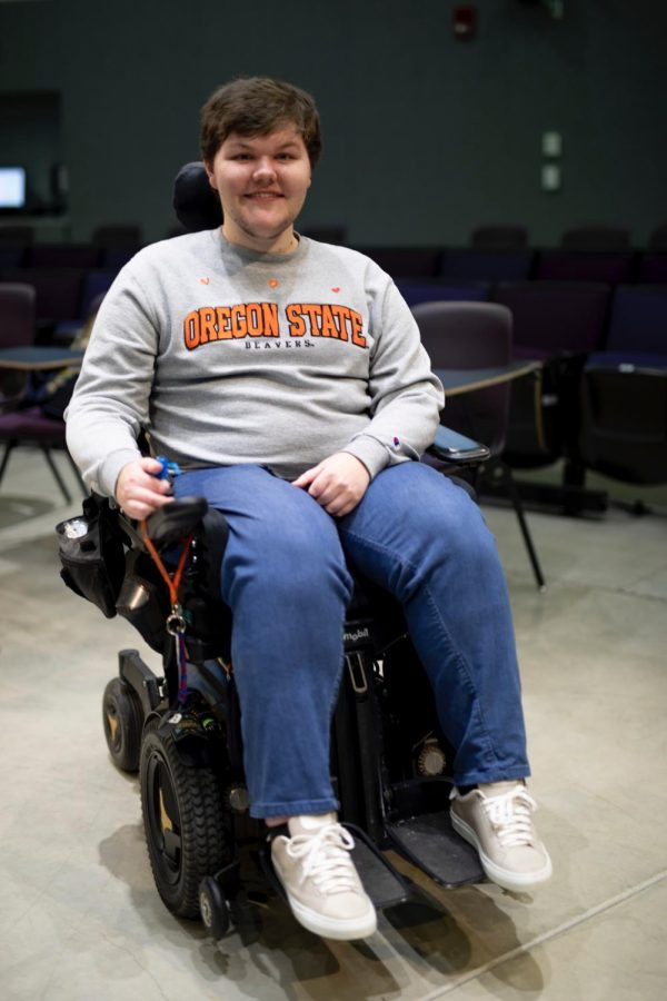 Kobey Bonin, an Oregon State University senior student majoring in liberal arts who uses a wheelchair, has faced many challenges while trying to find accessible housing both on and off campus in Corvallis, Ore.