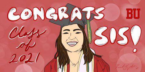 NINE: Congrats Sis!