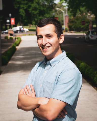 Miguel Arrellano Sanchez can be seen illustrated by the Human Services Resource Center. WithBill 2835 passing, there is more availability to aid for students at Oregon State through the efforts of HSRC.