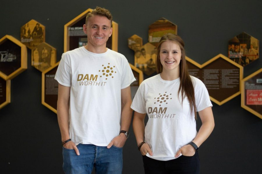 Nathan Braaten and Taylor Ricci, both student-athletes, founded the Dam Worth It Campaign out of a desire to help instigate change around the topics of mental health and suicide.