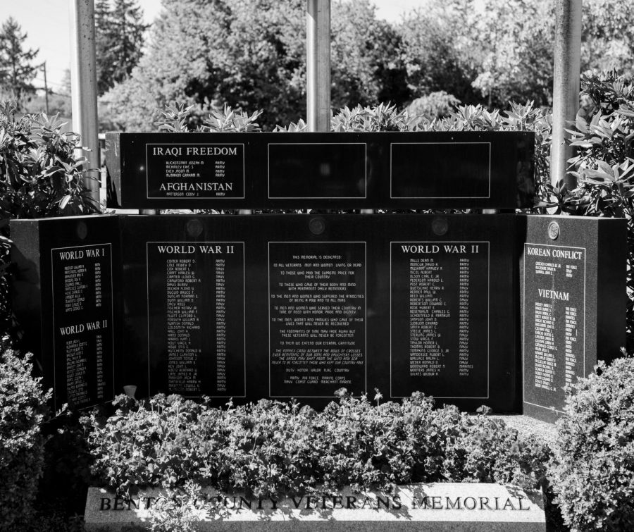 After the end of the war in Afghanistan, local concerned citizens are asking community members to consider the effects on Afghan refugees and veterans. The Benton County Veterans Memorial located in Corvallis, Ore. memorializes local veterans from World War I to present day.