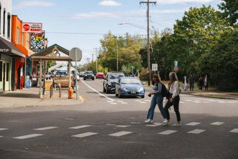 Oregon State University students return to campus and Corvallis, Ore. residents and businesses respond to the influx of population in the city. Approximately 20,000 OSU students call Corvallis home each year.
